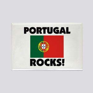 Portugal Rocks Rectangle Magnet